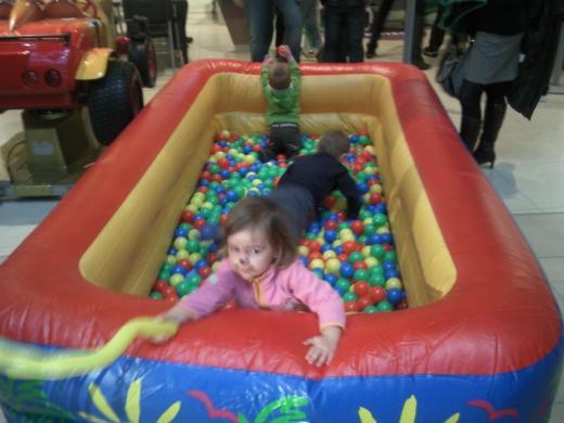Detský bazén s guličkami