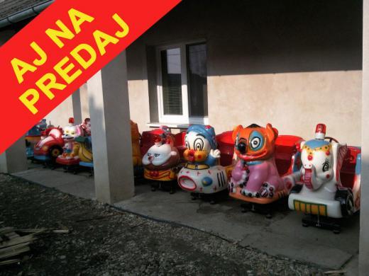 Húpacie detské automaty
